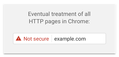Chrome Not Secure Site